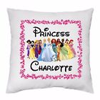 Personalised Cushion Cover Princesses Themed Great Gift