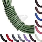 13 Colour 10m Leather Wire Beading Cord Thread Necklace Jewellery Making 1.5mm