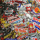 car racing parts - Mixed Random Stickers Decal Motocross Motorcycle Car ATV Racing Bike He