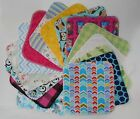 Kyпить Assorted 5 Cloth Wipes Tissues Baby Flannel 1 Ply Family Cloth Reusable Random на еВаy.соm
