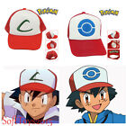 Pokemon ASH Ketchum Adjustable Mesh Hats Pocket Monster Baseball Hat Visor Cap