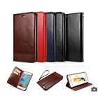 Luxury Leather Magnetic Flip Wallet Stand Case Cover For iPhone 7 Plus 6 6s Plus