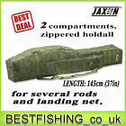 Jaxon X-Team 2 compartments holdall 1.58yd to transport your rods case,  rod tube