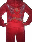 NEW WOMENS ANGLEWINGS TRACKSUIT 8/10/12/14/16/18  RED cc