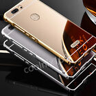 Luxury Aluminum Metal Bumper Case + Mirror Cover For Huawei Honor 8 / Note 8