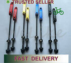 Bicycle Bike Wheel Skewers Clip Quick Release Lever Axle QR Front+Rear