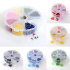 1 Box Mixed Color Glass Seed Beads 6/0 8/0 Tiny Loose Beads Kits Beading Craft