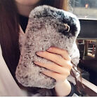 Luxury Soft Warm Fur Phone Protective Case Cover For iPhone 6 6s 7 Plus 5