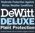DeWitt Deluxe 12' Wide X Any Length .5oz Frost Freeze Plant & Seed Guard Blanket