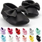 0-18 Months Soft Baby Leather Shoes Tassel Sole Moccasin for Boy Girl Toddler
