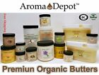 Premium Organic Butters 100 Pure RAW Fresh Natural Cold Pressed HAIR SKIN BODY