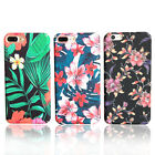 Fashion Retro Flower Garden Leaves Natural Hard Case Cover For iPhone 7 6S Plus