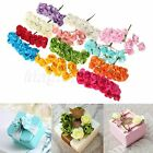 12/144pcs Mini Rose Flowers Artificial Paper Bouquet Wedding Home Decoration DIY