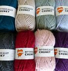 Cygnet Yarns Mythically Chunky 100g by Sincerely Louise 100% acrylic 8 SHADES