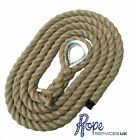 Natural Gym Climbing Rope, Fitness, Indoor, Tree With Galvanised Thimble Eye