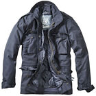 Brandit M-65 Standard Jacket Police Security Parka Mens Warm Outdoor Coat Navy