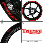 Triumph Street Triple Motorcycle Sticker Decal Graphic kit SPKFP1TR006-DE €107.0 EUR on eBay