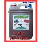 Kennel disinfectant 4 x 5L Baby Powder 5 - 20 litres contains Lab tested product
