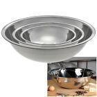 Stainless Steel Chef Prep and Nested Mixing Bowls in 2.75 qt, 4.5 qt, and 8 qt