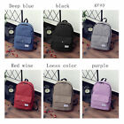 Fashion and Stylish Simple Canvas Backpack Preppy Style Student School Bag ZD