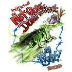 "Dixie Rebel Southern Fishing "" NOT GOING DOWN WITHOUT A FIGHT "" T SHIRT"