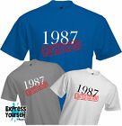 LIMITED EDITION 1987 - T Shirt, 30th BIRTHDAY (2017), Fun, Present, Gift, NEW