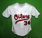 TULSA OILERS 1968 Home PCL BASEBALL JERSEY ANY NAME ANY  XS 5XL