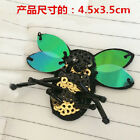 Bee Applique patches sequins beading clothing accessory embroidery sock shoe hat