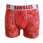 Bawbags Boxer Shorts Paisley Red