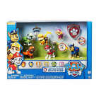 Paw Patrol Action Pack Rescue Team Figure Set of 6 Pups Chase Marshall w/badge