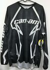 Can-Am Men's Recreational Jersey-Black-Long Sleeve-Large