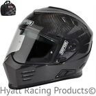 Simpson Ghost Bandit Motorcycle Helmet DOT - All Sizes & Carbon Fiber (Free Bag)