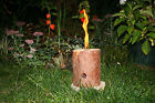 Woodson Log Candle Torch Torches Garden Candle Log Camping Fire Block Outdoor