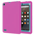 USA ShockProof Defender Rubber PC Case Cover For Amazon Kindle Fire 7 Tablet 5th