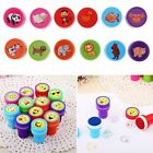 12pcs/Set Cute Toy Pattern Inking Kids Stamps Seal Stationery Scrapbooking Gift