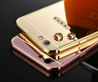 Luxury Aluminum Metal Frame PC Plating Back Cover For OPPO F1s Case Accessory