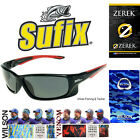 Sufix 832 Polarised / Polarized Fishing Boating Sunglasses + Choice of head sock