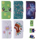 Card Wallet Flip PU Pattern Leather Phone Case Cover For Samsung Galaxy S5/S6/S7