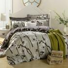 Floral Doona/Quilt/Duvet Cover Set 100% Cotton Double/Queen/King Size Bed Linen