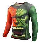 Fitness Compression Shirt - Superhero Style