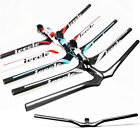 100% Carbon Track Mountain Bike/Bicycle Riser Bar Stem Handlebar MTB 31.8mm