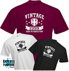 VINTAGE 2 1947 - T Shirt, 70th BIRTHDAY (2017), Fun, Present, Gift, NEW