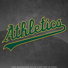 "Oakland Athletics A's Jersey Logo Vinyl Decal Sticker - 4"" and Larger - Glossy on Ebay"