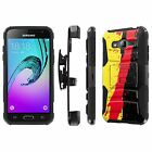 Galaxy J3 [2016] Amp Prime/ Express Prime [Armor Case] [KickStand] [Holster] - G