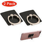 2pc Universal Finger Ring Kickstand Stand Holder For Iphone Galaxy Smart Phone