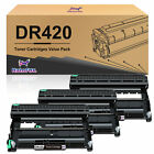 Premium DR420 Drum or TN450 Toner Lot for Brother MFC-7240 MFC-7365DN MFC-7860DW