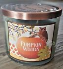 BATH & BODY WORKS FALL WINTER HOLIDAY 3 WICK CANDLES PUMPKIN VANILLA YOU CHOOSE