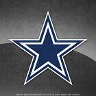 "Dallas Cowboys Vinyl Decal Sticker NFL - 4"" and Larger Sizes - Great Quality on eBay"