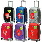 "Approved 20"" Hard Shell Abs Carry On Hand Spinner Luggage Trolley Cabin Suitcase"
