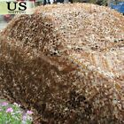Desert Camouflage Woodland Military Net Camo Netting Hunting Camping Tent Cover